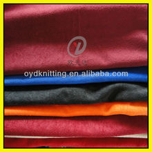 100% polyester warp knit Aloba fabric/specklet velvet fabric
