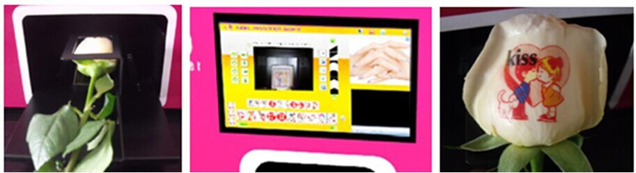 LCD digital nail printer with computer