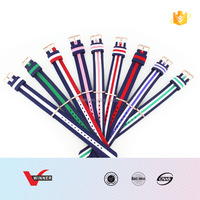 multi color nylon watch bands