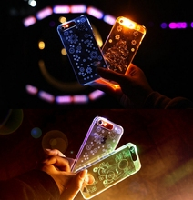 OEM Led Selfie Flash Light TPU Phone Case for iphone 7 plus Phone Covers for iPhone 6 /6s