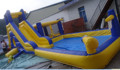 2014 hot sell jumping castles inflatable water slide/inflatable water slip slide/jumbo water slide inflatable
