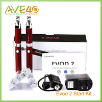 kanger evod 2 starter kit 2014 vape mod, e-cig led, colored vaporizer ecig