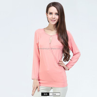 autumn fashion design maternity long sleeve undershirt