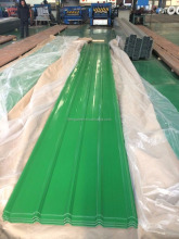 Color Corrugated roof sheets PPGI Prepainted Galvanized steel coils