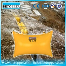 Quarry block dunnage air bag