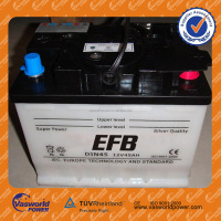629-12v45ah dry car battery DIN standard hot selling in Pakistan