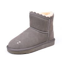 Soft suede flat snow boots italian winter boots women OEM/ODM