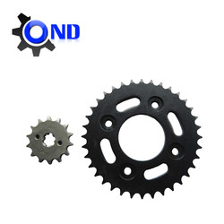 Motorcycle chain sprocket set Direct Manufacturer