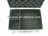 2014 Wholesale aluminum storage camera case with foam and EVA insert