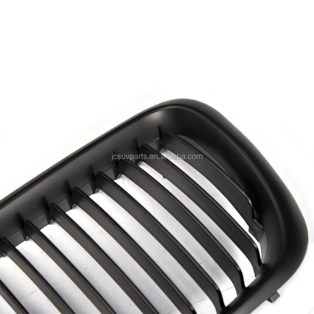 Jc auto parts 2pcs set pp black matt front grille for bmw for Jc motors used cars