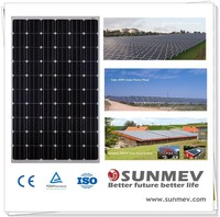 2015 High efficiency solar panel cell 260w mono with good price and TUV,CQC,MCS,CEC