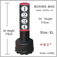 Free Standing Punching bag Boxing Stand Target Boxing Opponent Bag with adjustable height