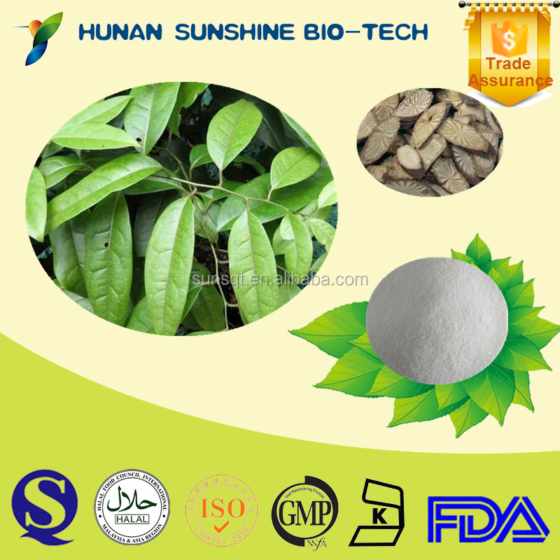 Alibaba China Anti-inflammation Sinomenium acutum extract 98% Sinomenine hydrochloride