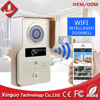smart video door phone wifi access control multi apartments video door phone with GSM