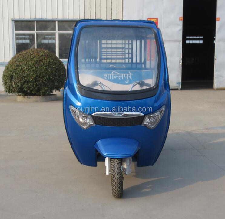 48v 1000 w motor battery electric tricycle price for passenger