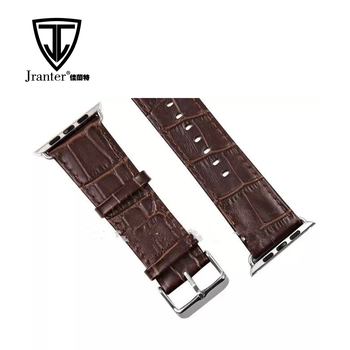 Crocodile Alligator Leather Watch Strap
