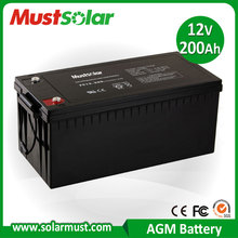 Competitive Price 12V 200Ah Inverter Battery for Solar PV System