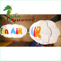 LED Lighting Promotion PVC Inflatable Helium Cloud Model Ball