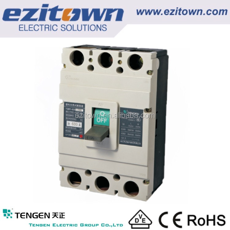 TENGEN GROUP electrical mccb 250a Moulded case circuit breaker