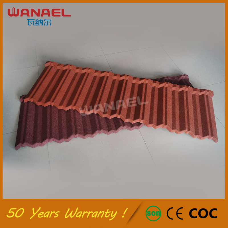 Traditional high quality colorful sand coated concrete roof tile price,lightweight roof materials