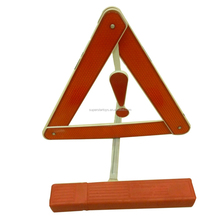 5140913-3 car accessory, red safety reflective warning triangle for emergency