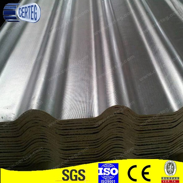 uvpc tri-ply heating insulation tile