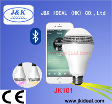 JK101 Best-selling products bluetooth led speaker bulb RGB smart phone control music