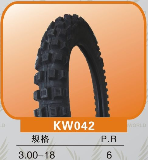 cross pattern off road motorcycle tire 3.00-18