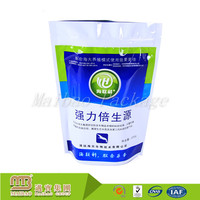Custom Stand Up Heat Seal Resealable 10 Color Printing Small Plastic Bags For Drugs