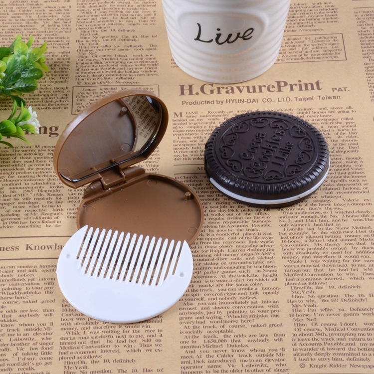 high quality promotion comb set,lice hair beard comb and mirror set on sale