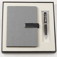 Custom Promotional Business Premium Notebook Gift Set with Pen