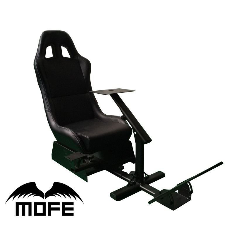 Mofe 4d Car Racing Simulator Machine Game Seat With Pedal Pad Support