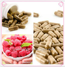 High Quality Raspberry Ketone Capsule OEM Botanical Diet Pill Wholesale
