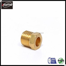 customized brass/ stainless steel threaded hollow hex bolt