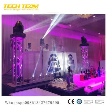 Moving Head Light Truss Stand , Led Beam Moving Head Light Trussing