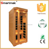 hot sale mini far infrared sauna room with oxygen ionizer