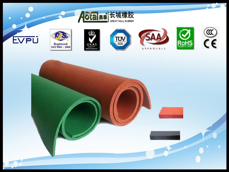 Great Wall high quality black EPDM foam rubber sheet