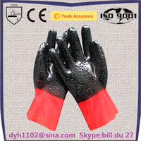 High quality new type pvc gloves protection