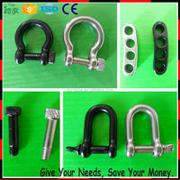 Small Stainless Steel Mini Shackles For
