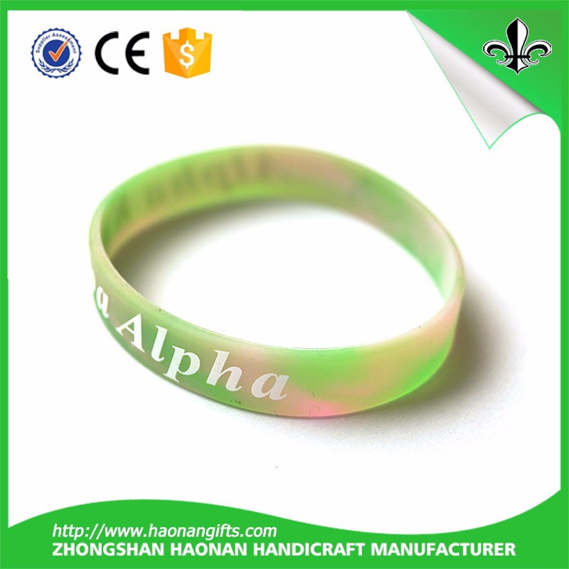 high quality customize silicone wristband with copetitive price