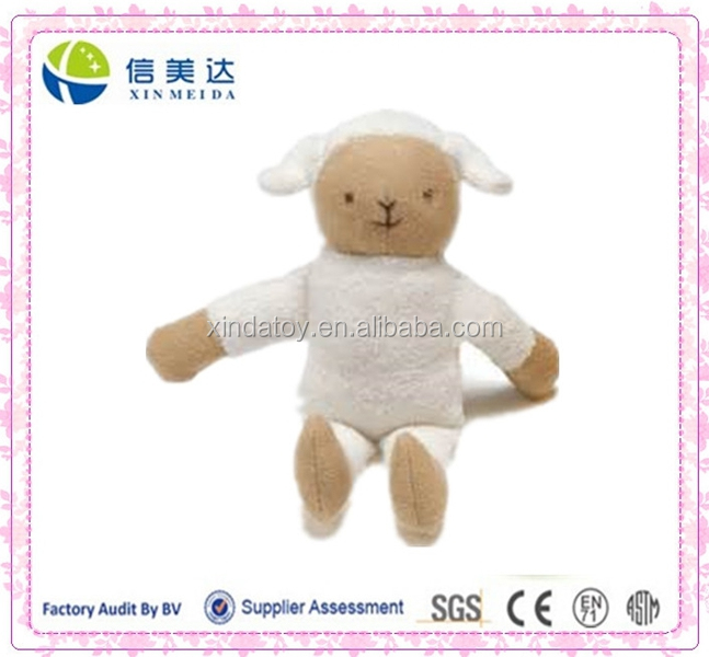 Organic Cotton Sleepy Sheep Plush Toy