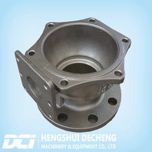 High precision carbon steel casting valve body for auto engine OEM factory