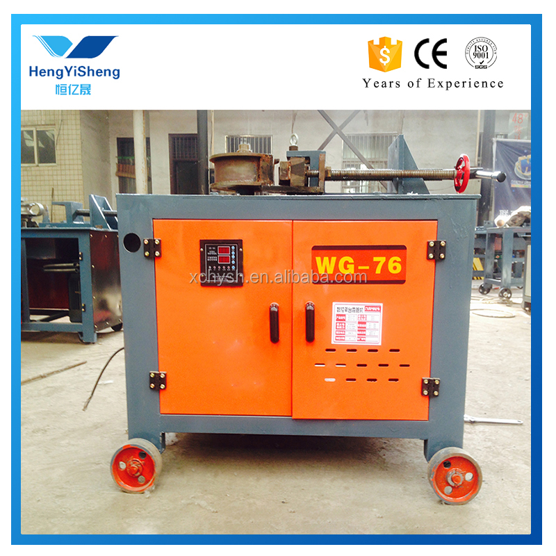 Round or square stainless steel or carbon steel portable pipe bender machine
