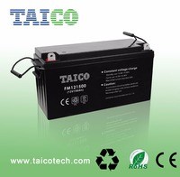 Rechargeable Deep-Cycle UPS AGM Gel Power Lead-Acid Battery 12V 150Ah Gel Electric Solar Street Light Battery