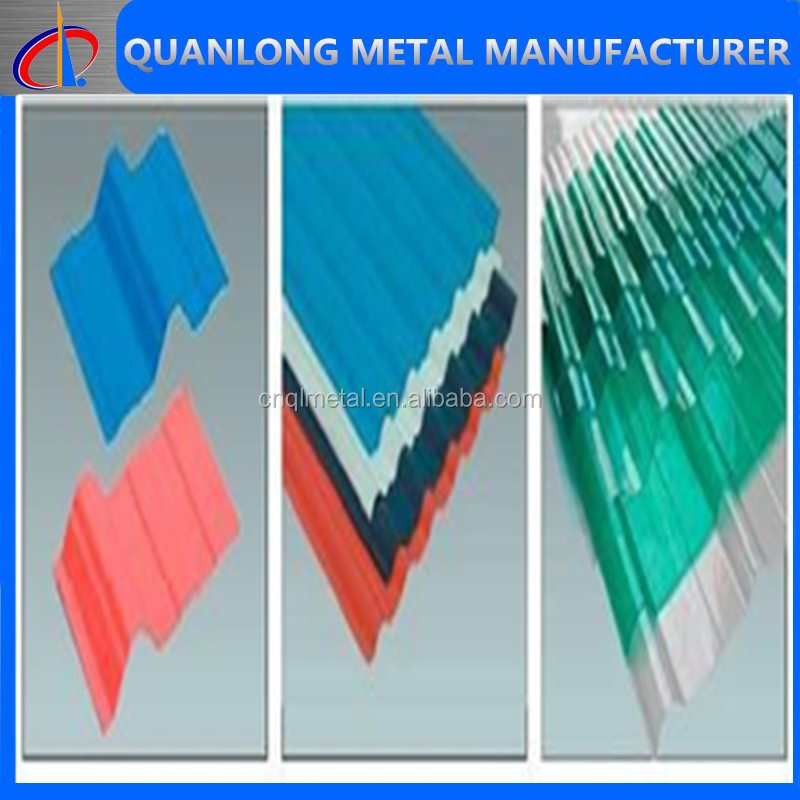 metal roof making corrugated galvanized/prepainted sheet made in China