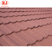 Factory sale blue metal stone coated roof tile