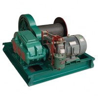 construction site cable drum 12000lbs winch
