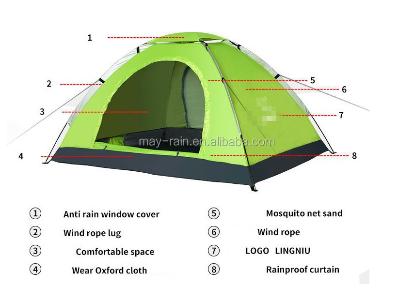 High Quality Waterproof Cheap Outdoor Camping Tent Instant Tent