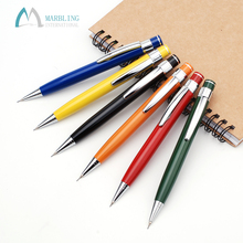 Custom Logo School Metal Aluminum Retractable Mechanical Pencil