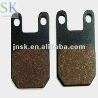 high quality scooter brake pads piaggio A motorcycle parts